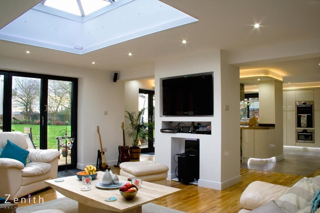 Zenith architecture oxford bungalow extension remodeliing - Bungalow extension designs ...